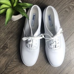 Keds Classic Leather White Sneakers New